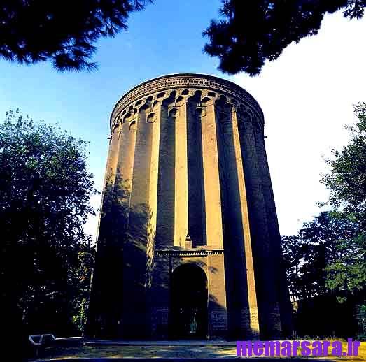 دانلود پاورپوینت برج طغرل شهر ری